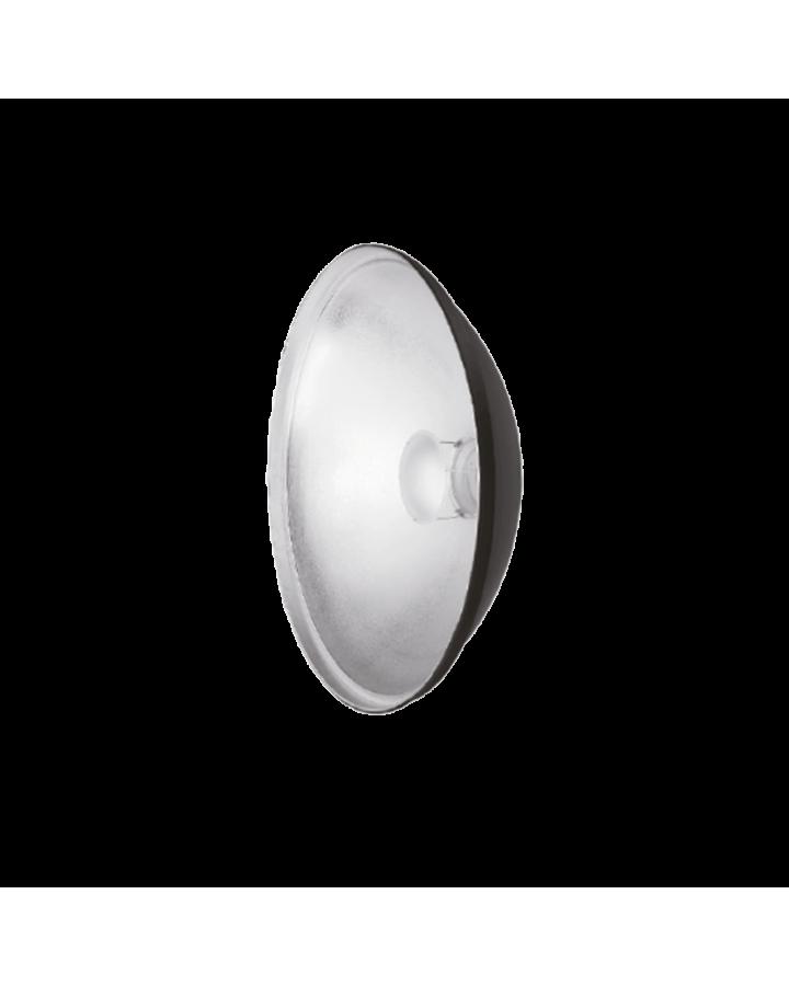 Beauty Dish aluminio QZ-40 plata