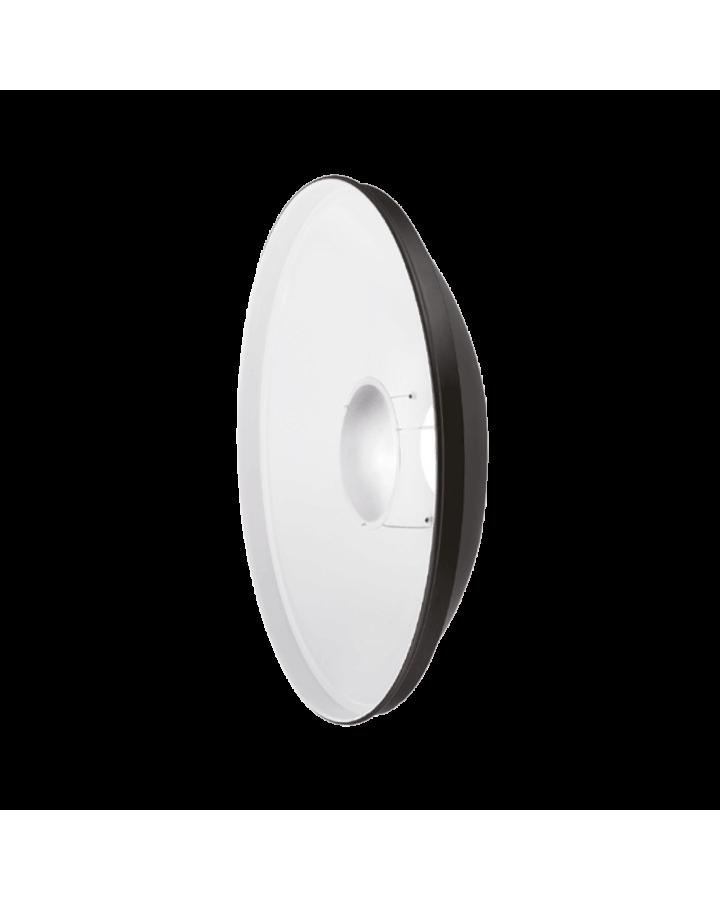 Beauty Dish aluminio QZ-50 plata