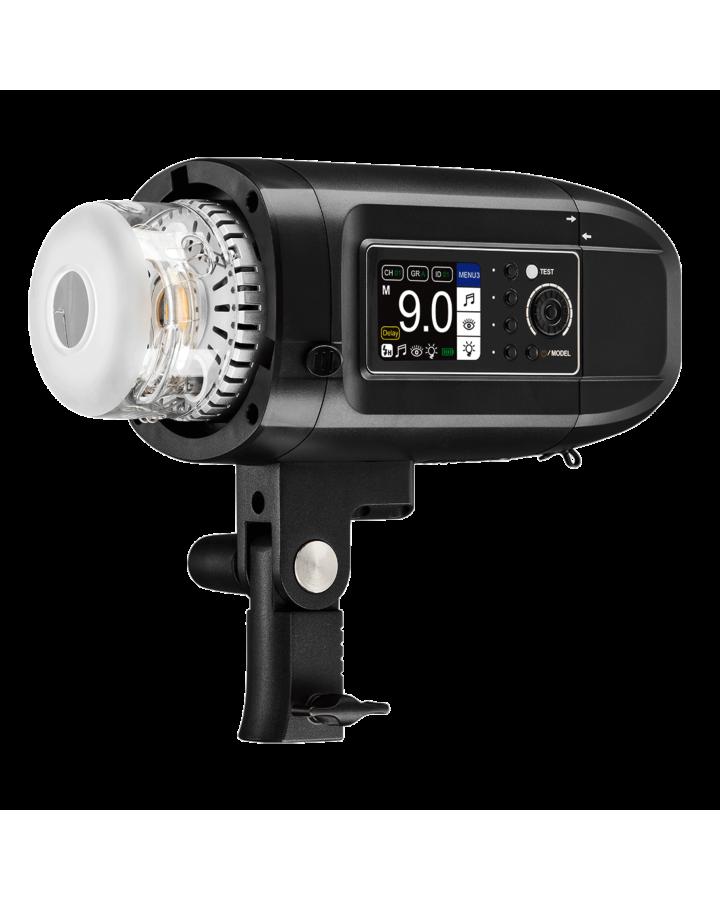 Flash de batería HD-400 Pro
