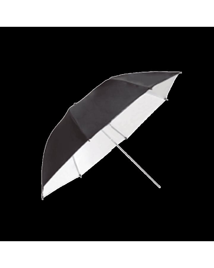Paraguas profundo Ø 85 Negro/Blanco