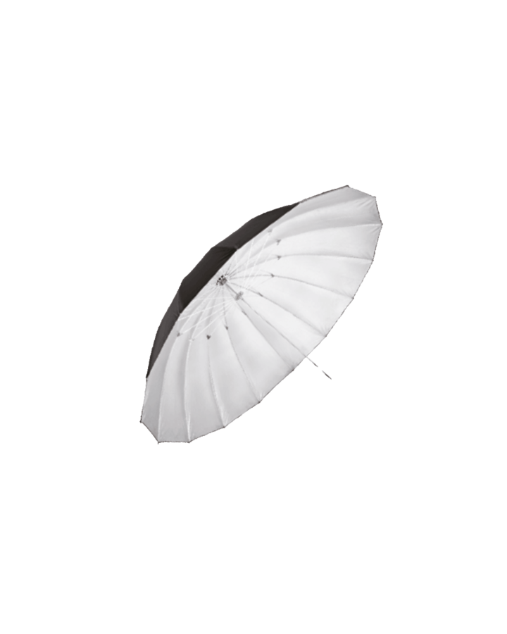Paraguas 100 cm Negro/Plata