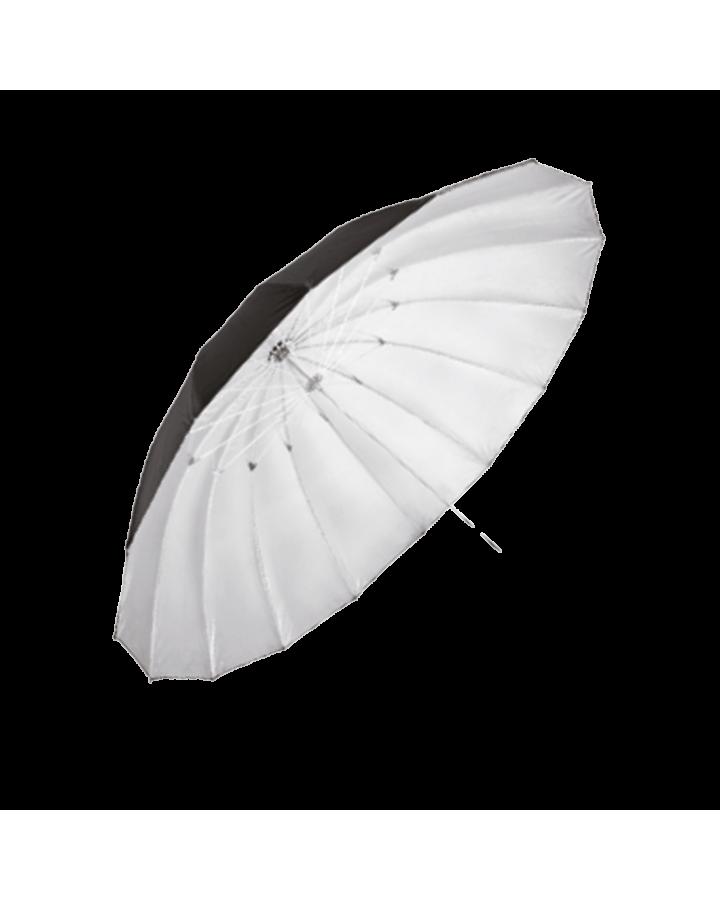 Paraguas 150 cm Negro/Plata