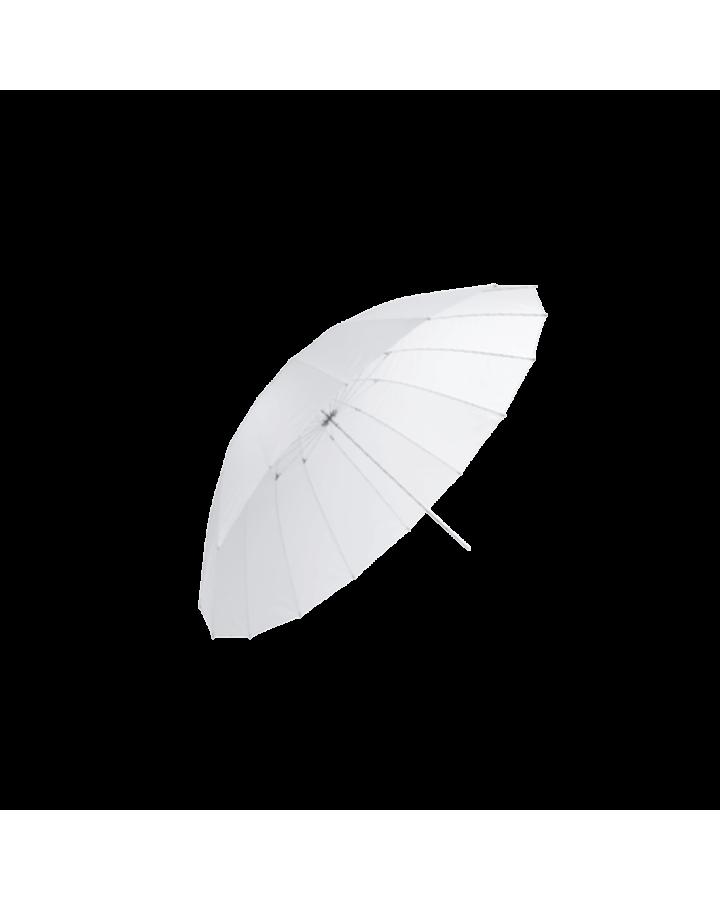 Paraguas 100 cm translúcido