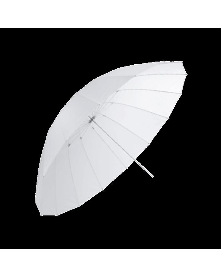 Paraguas 150 cm translúcido